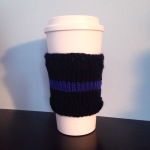 thin blue line cup sleeve