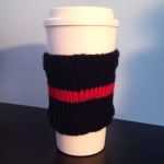 thin red line cup sleeve