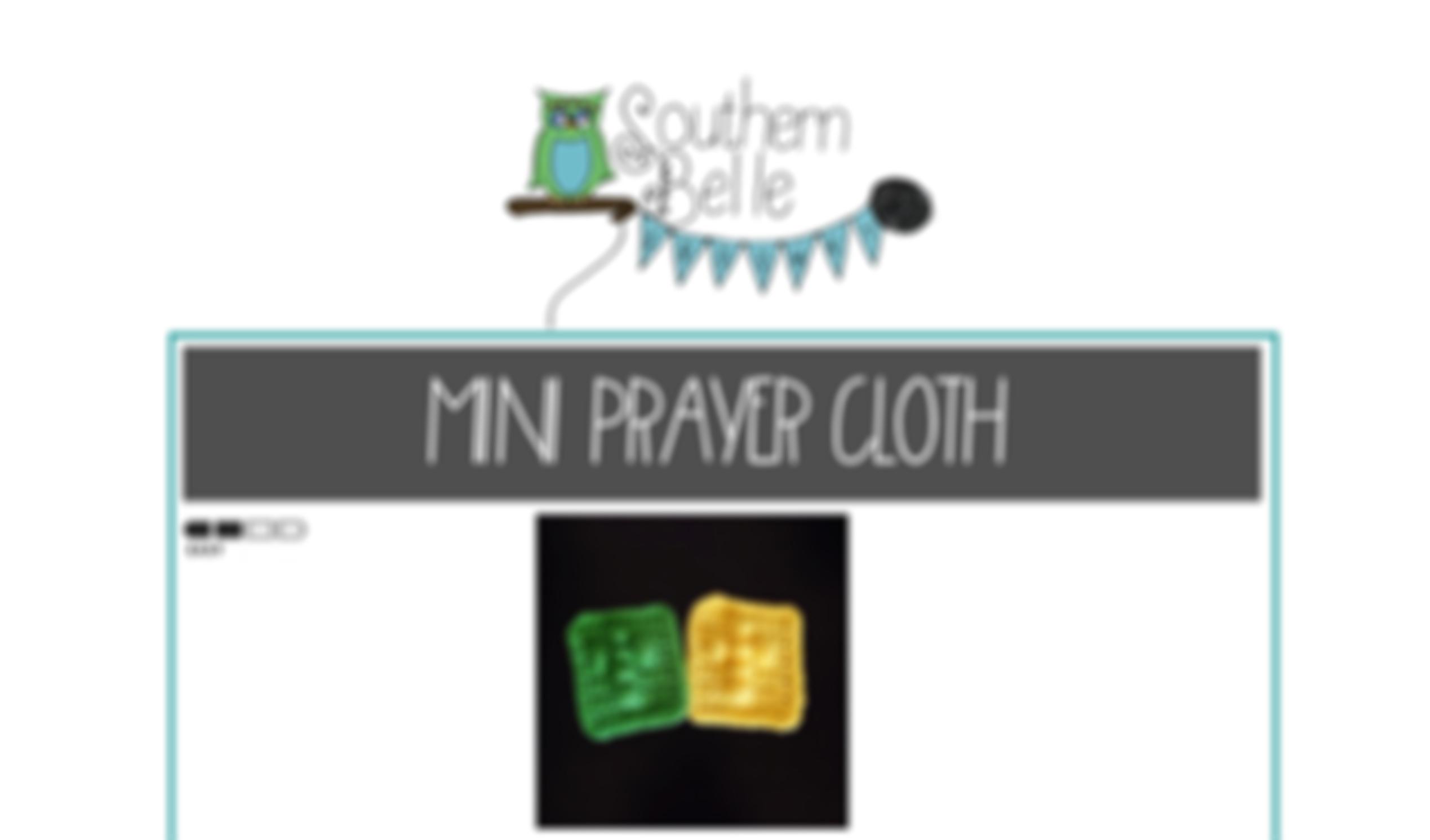 Pattern Mini Prayer Cloth By Southern Belle Crochet