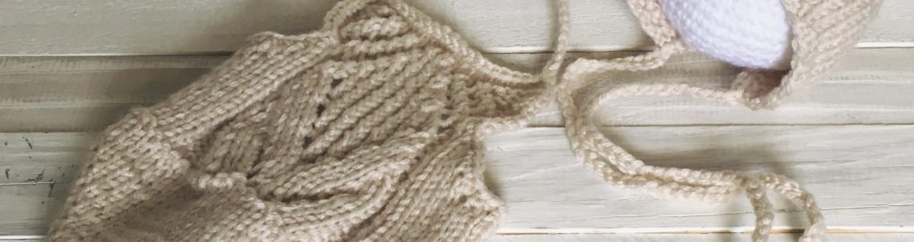 newborn tulip bonnet romper set